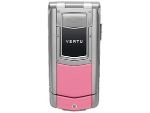 Прошивка Vertu Constellation Ayxta Pink silver ceramic diamond European