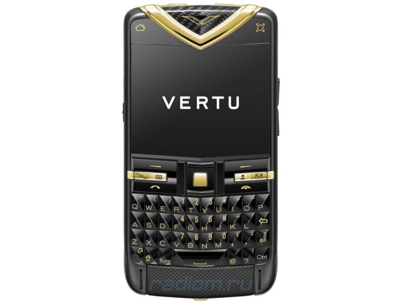 Прошивка Vertu Constellation Quest YELLOW GOLD TUR