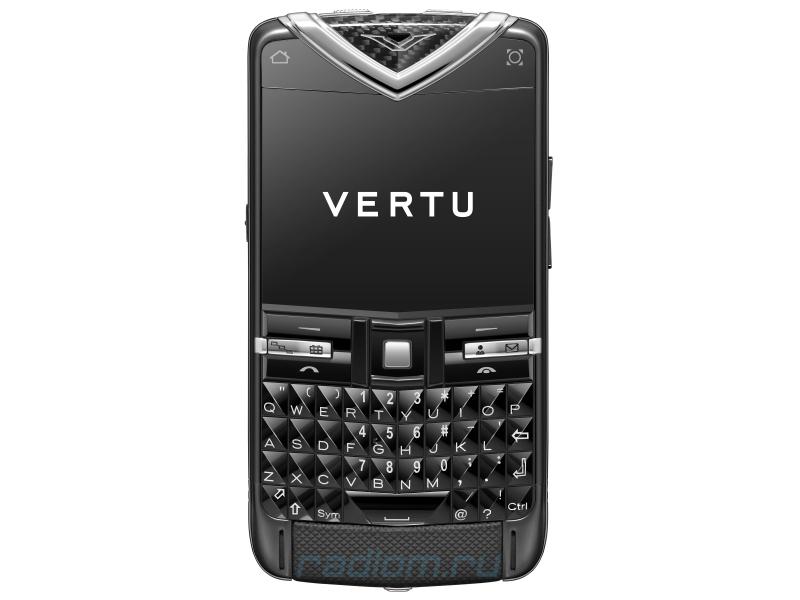 Прошивка Vertu Constellation Quest BLACK STAINLESS STEEL